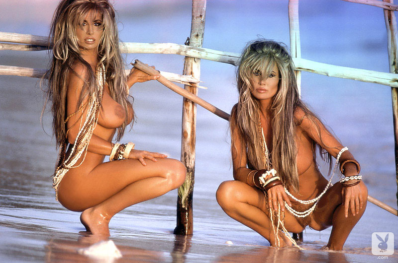 Remarkable, playboy barbie twins apologise, but